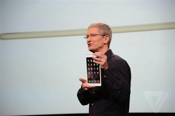 Apple Unveils New iPad Mini 3 With Touch ID and Also In Gold