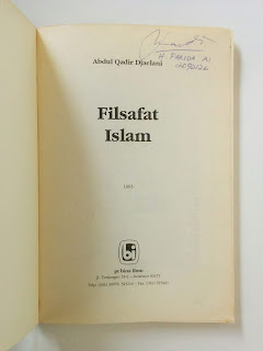 Filsafat Islam penulis Abdul Qadir Djaelani