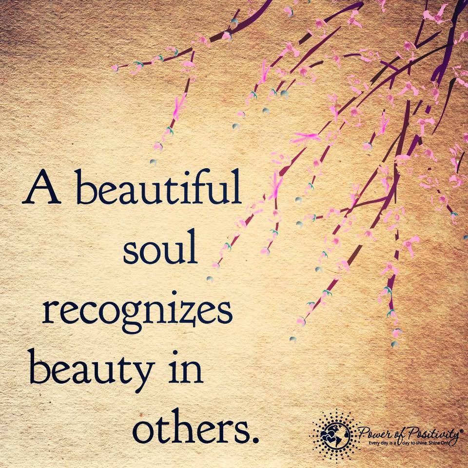 Beautiful Soul Quotes A Beautiful Soul Recognizes Beauty In Others