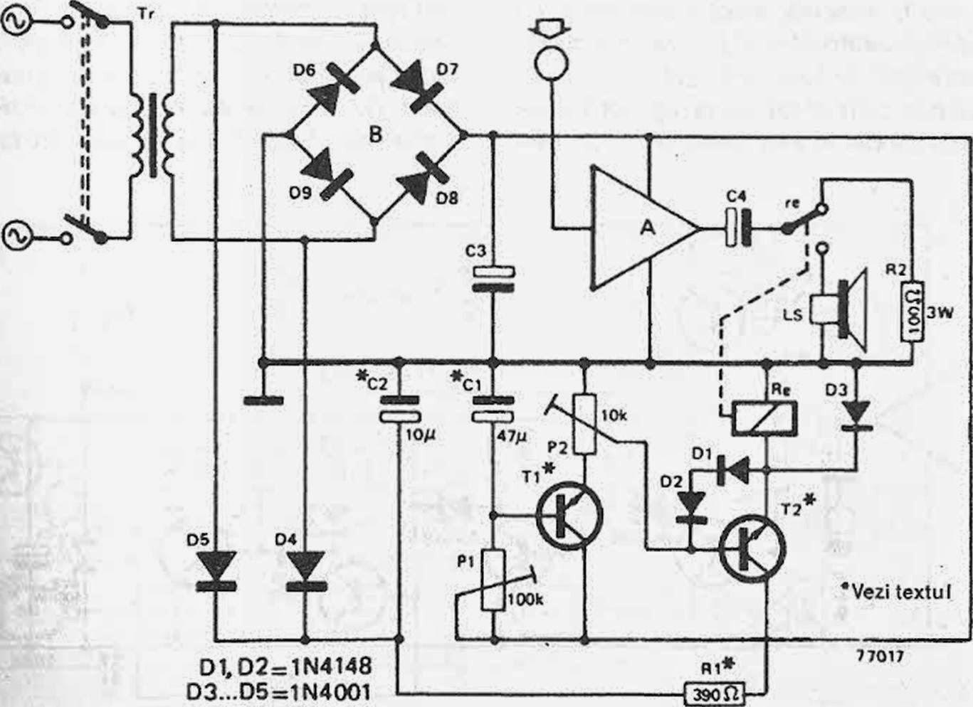 Conectare Automat Pentru Amplificator Final 14