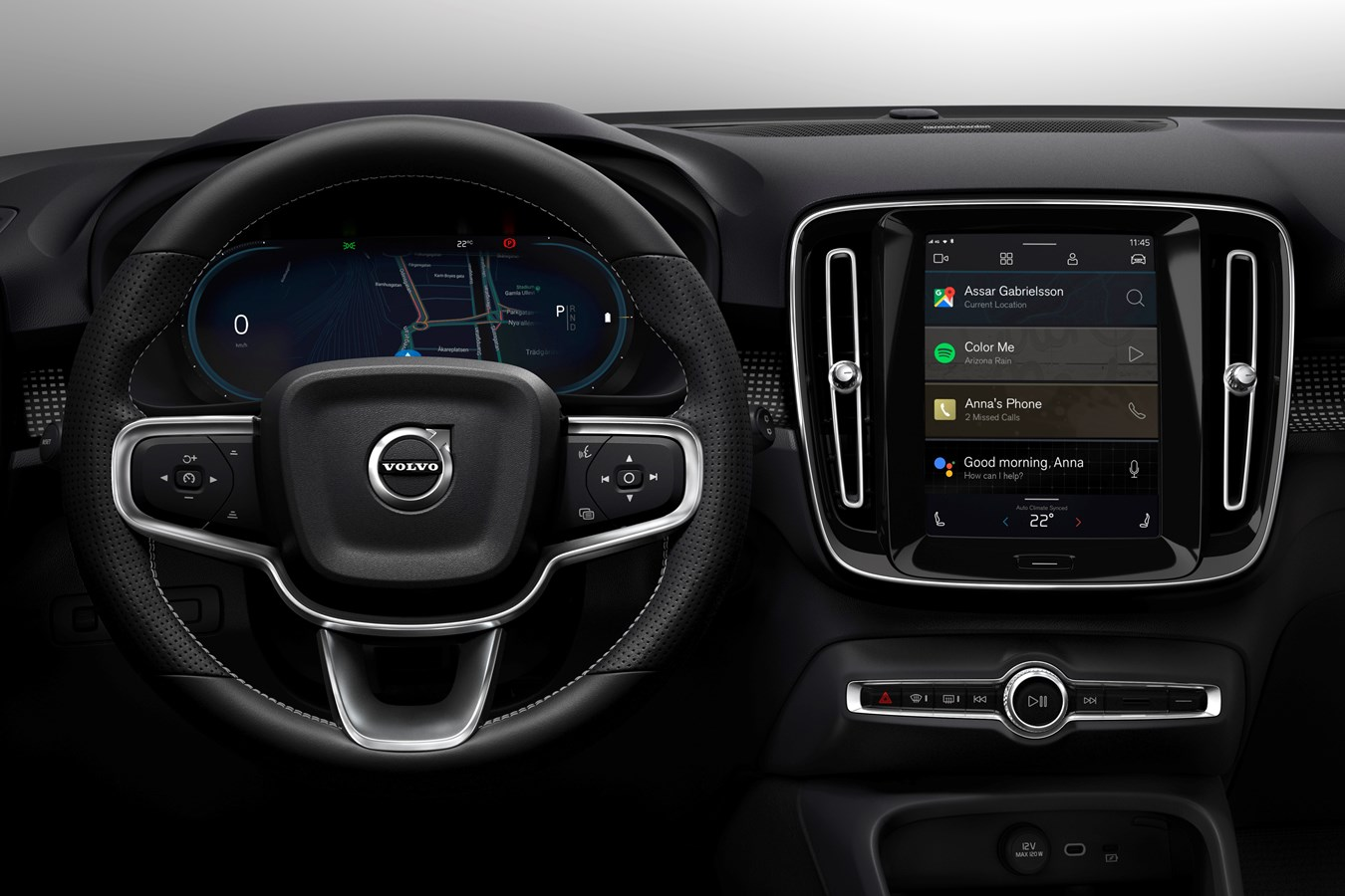 Volvo XC40 infotainment unit
