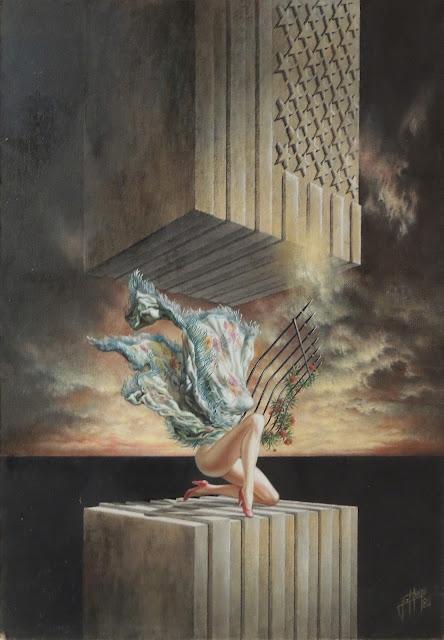 Enrique Nieto arte surrealista denuncia cultura americana