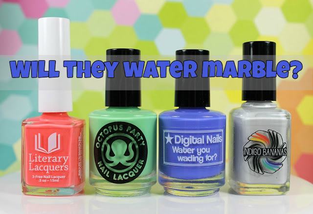 Creme a la Mode #3: Do they Water Marble?