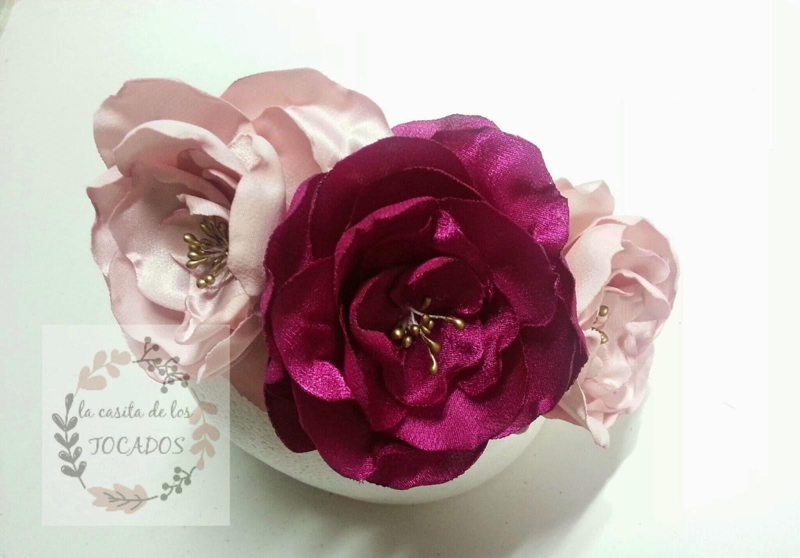 diadema de flores artesanales para boda o evento de fiesta a buen precio