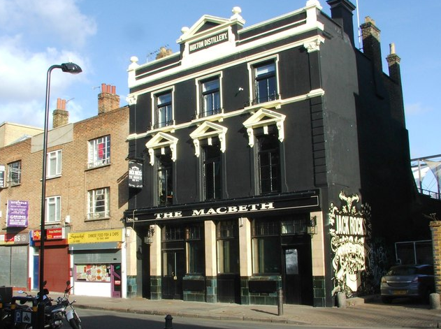The MacBeth of Hoxton, a famous pub in london