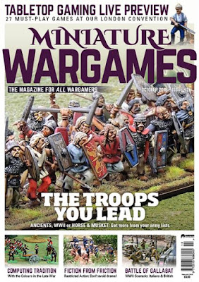 Miniature Wargames 426, October 2018