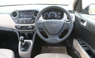 Hyundai Xcent interior image