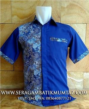 Model Terbaru Seragam Batik Modern