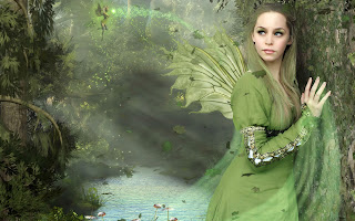 2013 Photoshop Fantasy Angel Wings tutorial wallpaper