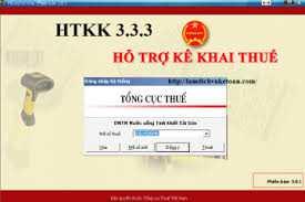Phần mềm hỗ trợ kê khai thuế (HTKK) được nâng cấp lên phiên bản 3.3.3