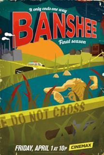 Banshee Temporada 4 Poster
