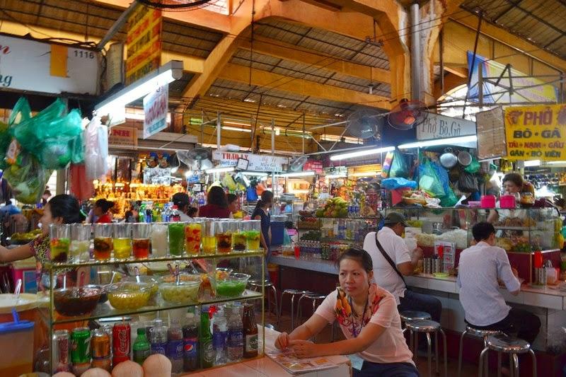 marché Cho Ben Thanh,  marché de Cho Ben Thanh