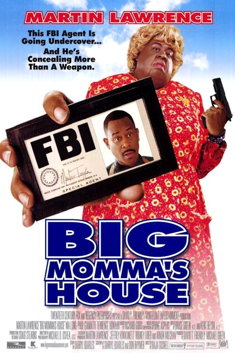 Big Momma's House (2000) ταινιες online seires oipeirates greek subs