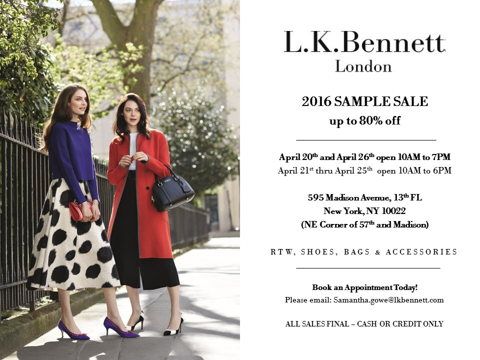 Don't Miss These Sample Sales! Manolo, Carven, Scoop, And More ...