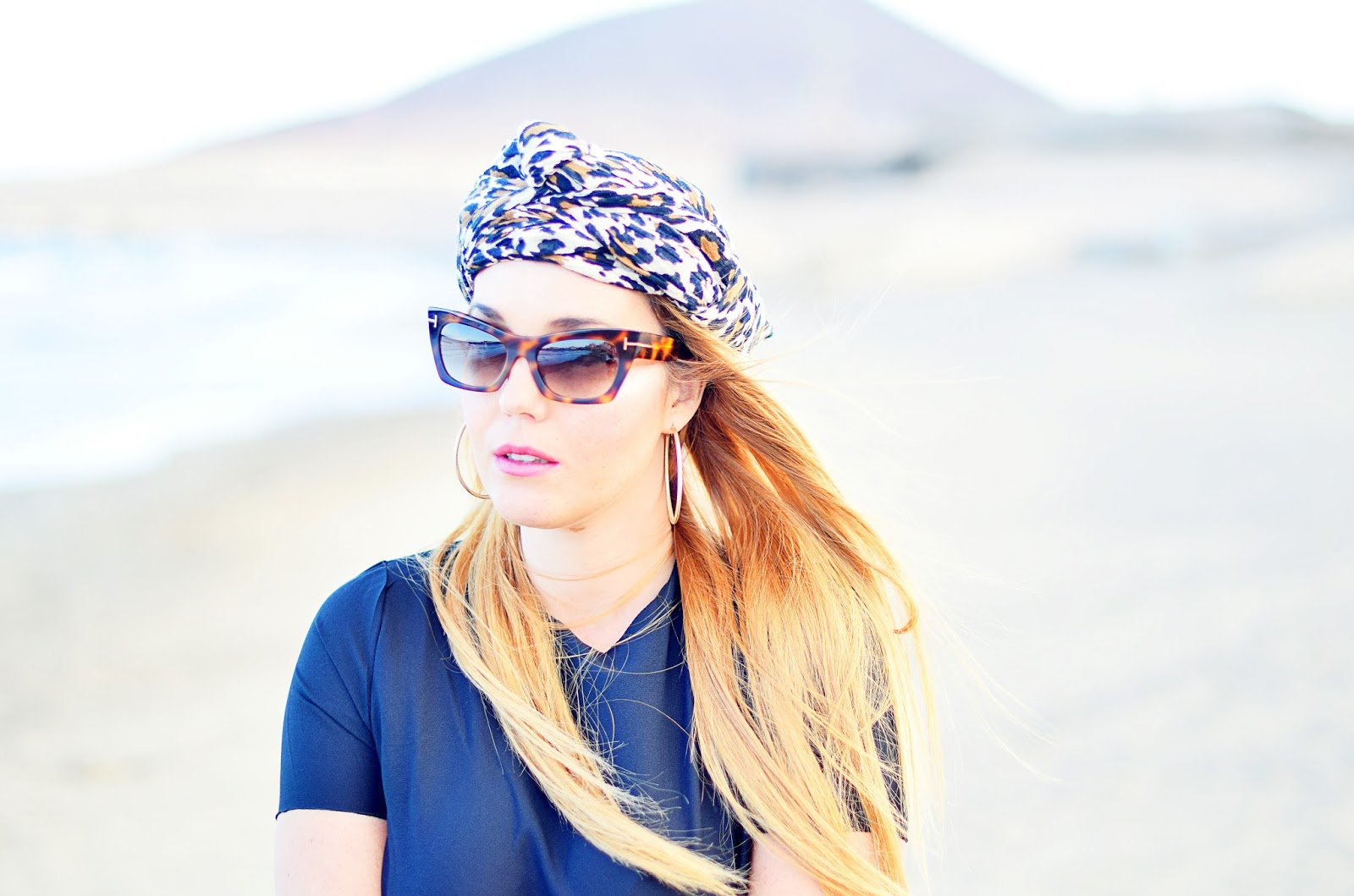 beach look, ethic look, turban, nery hdez, tom ford sunglasses, optical h, nery hde