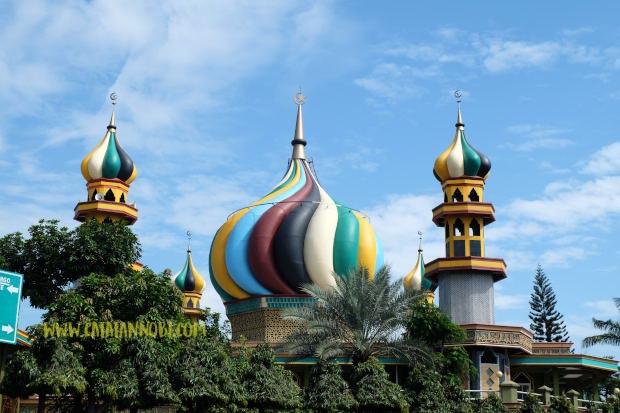 Perpaduan Warna Cat Lisplang  warna masjid bagus gambar islami