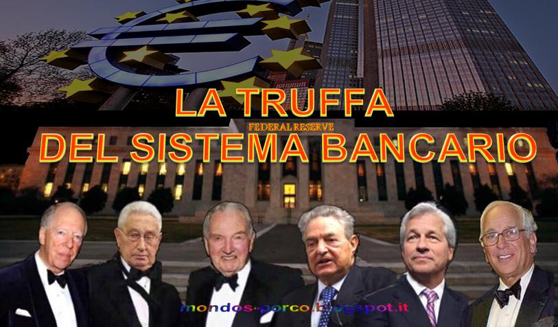 Risultati immagini per il danno del denaro creato dalle banche