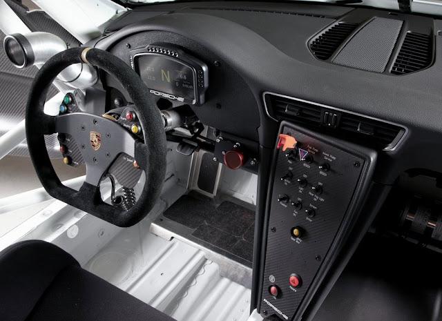 2013 Porsche 911 GT3 Cup Interior View