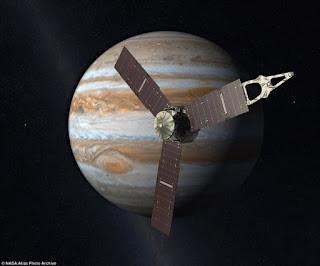 ο διαστημικό αεροσκάφος Juno φθάνει στο Δία