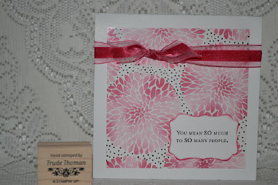 http://stampwithtrude.blogspot.com Stampin' Up! greeting card by Trude Thoman Betsy's Blossoms stamp set