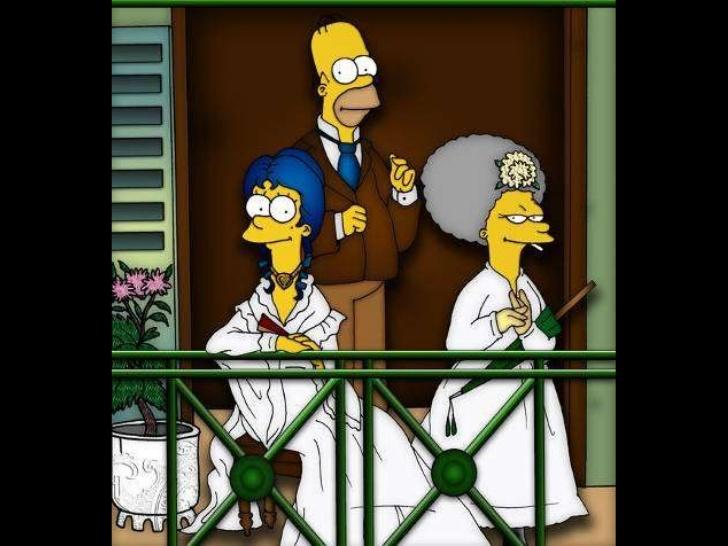 Os Simpsons ~ Paródias com pinturas famosas