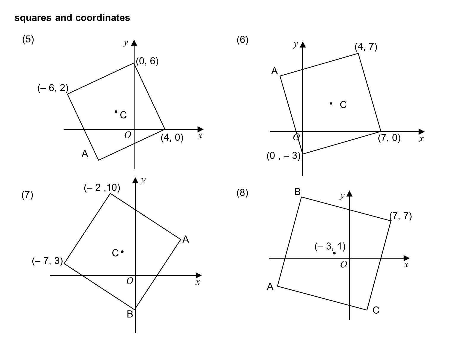 Median Don Steward Mathematics Teaching Squares And