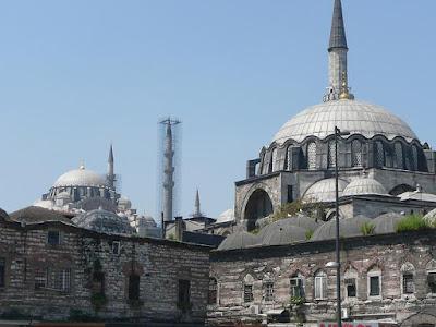Kemegahan Rustem Pasha Mosque Turki