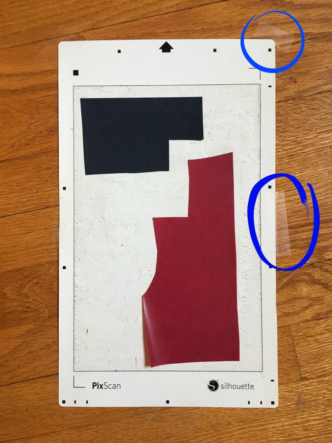pixscan mat tutorial, pixscan calibration, calibrate pixscan, silhouette pixscan cameo