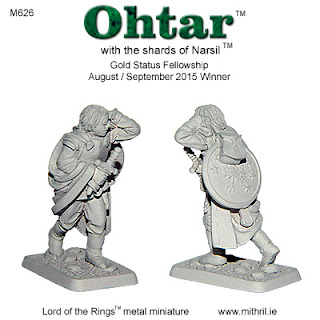 Ohtar with the shards of Narsil