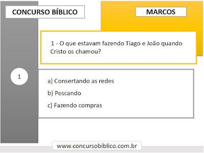 Perguntas Bíblicas Marcos