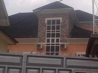 granite stone bits done on a pent house in portharcourt