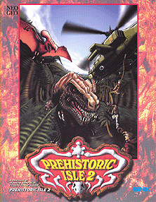 Prehistoric Isle 2+arcade+game+portable+art+flyer