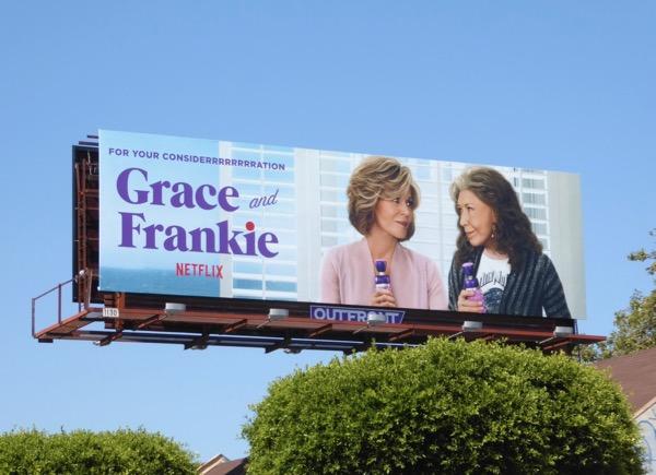 Grace and Frankie For your considerrrrrrrrration Emmy billboard