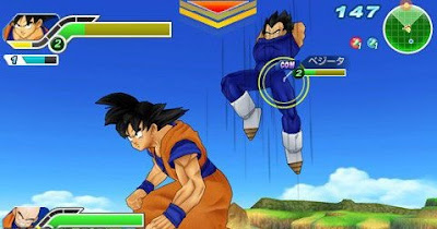 Dragon Ball: Z Tenkaichi Tag Time ppsspp Android