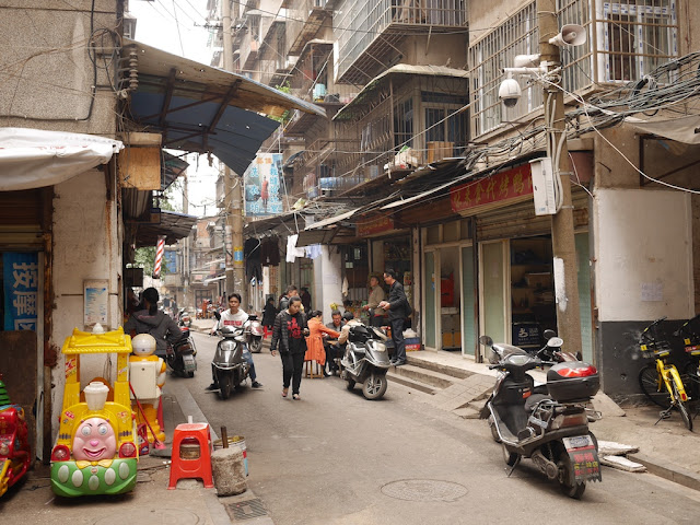 Yanjiatang Lane in Changsha (晏家塘巷)