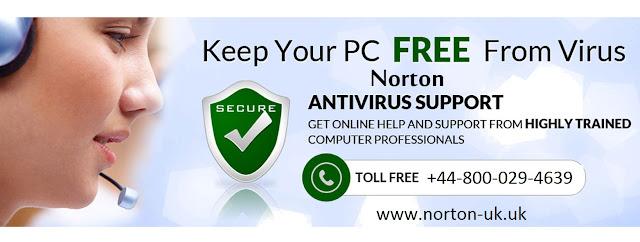 Norton Toll free Number uk