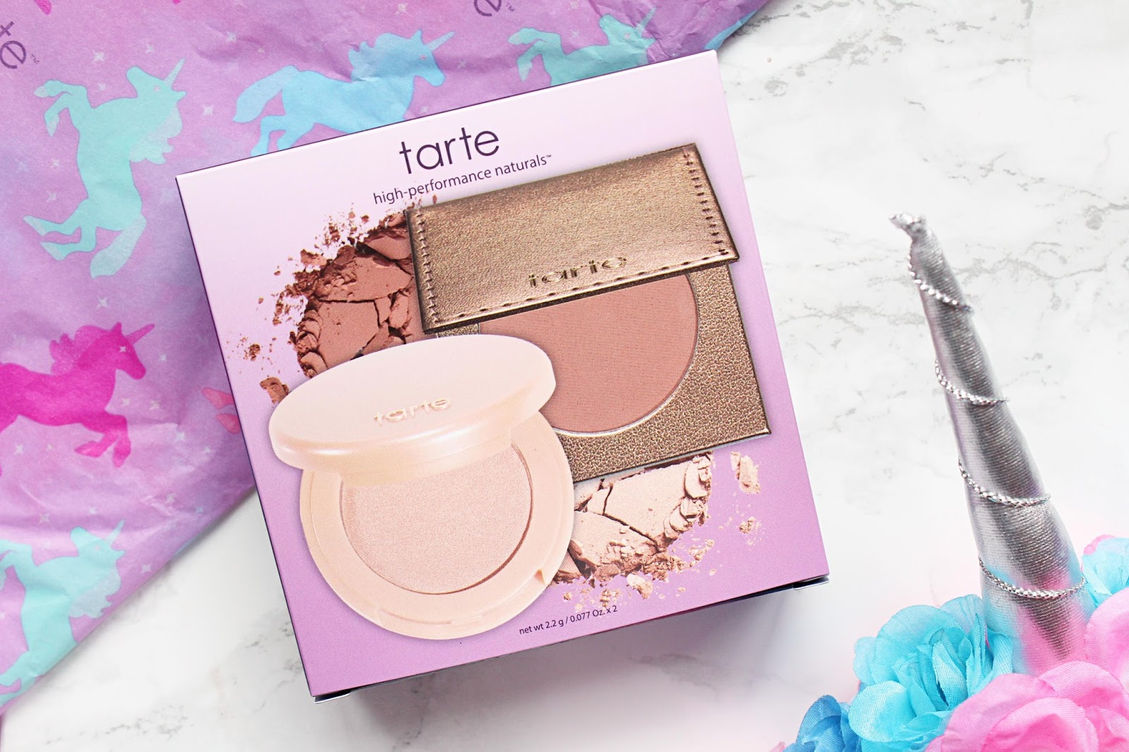 Tarte Glow Girls Bronzer & Highlight Duo