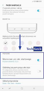 Samsung Galaxy S9+ Przycisk Ekranu Startowego Dodatkowe Opcje