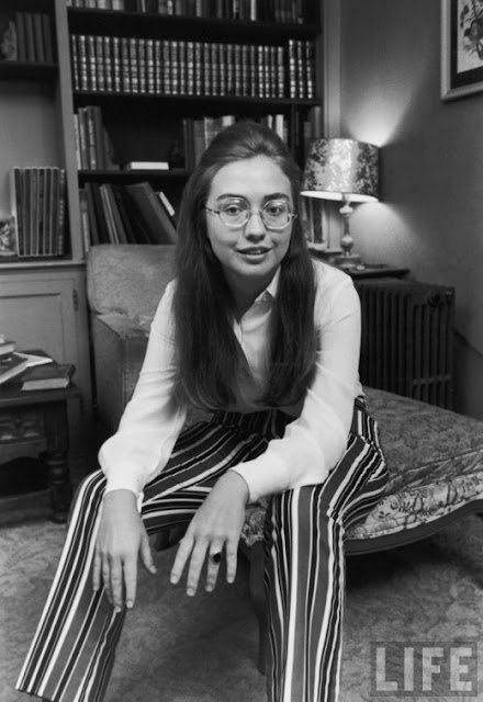 Old Portraits Of Hillary Clinton In 1969 Vintage Everyday