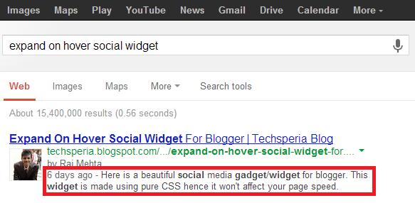 Social Widget Description