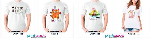 Print Baju Dengan Design Sendiri