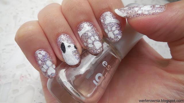 zdobienie paznokci w pieski