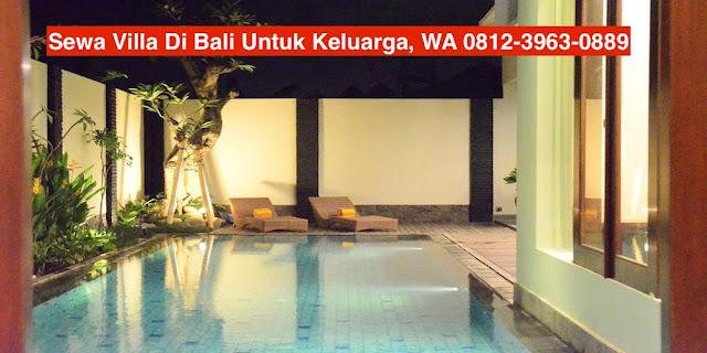 Villa Di Bali Untuk Keluarga
