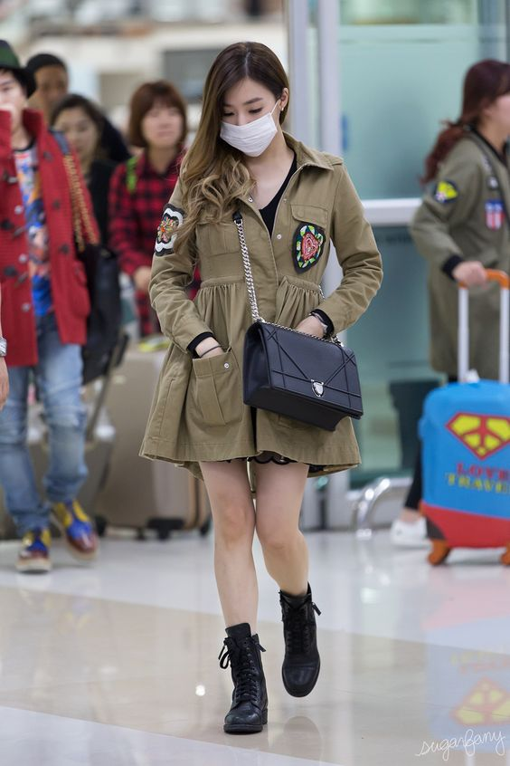 Airport Fashion Tiffany SNSD Terbaru | INSPIRASI PERNIKAHAN