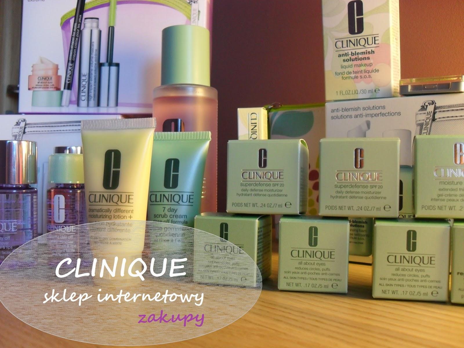 Zakupy - Sklep internetowy CLINIQUE