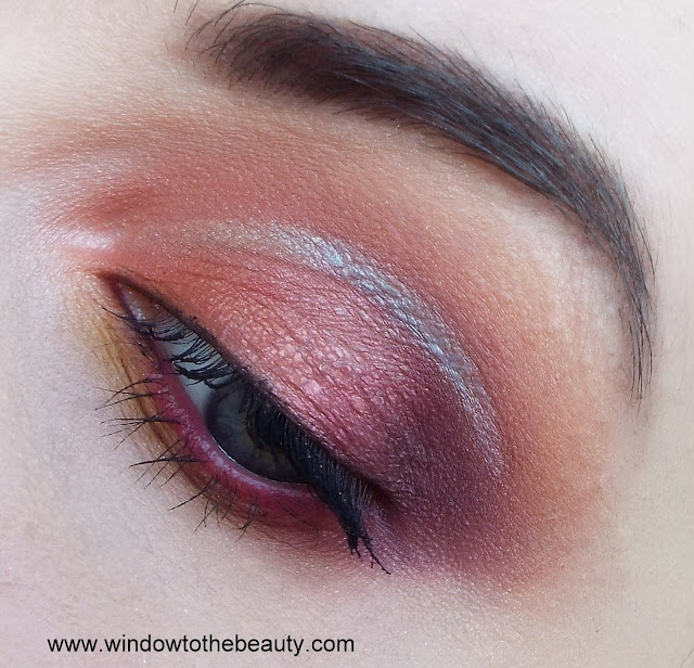 pink coral yellow revolution eyeshadow