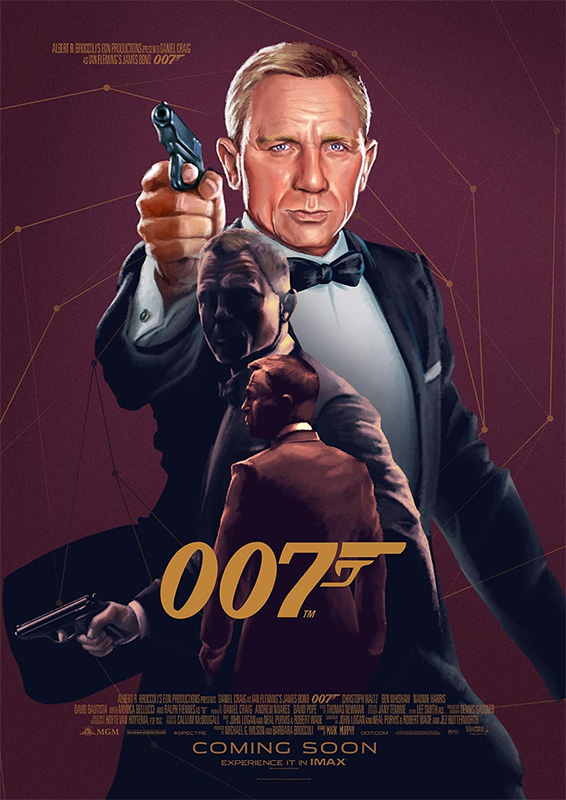 Illustrated 007 The Art Of James Bond