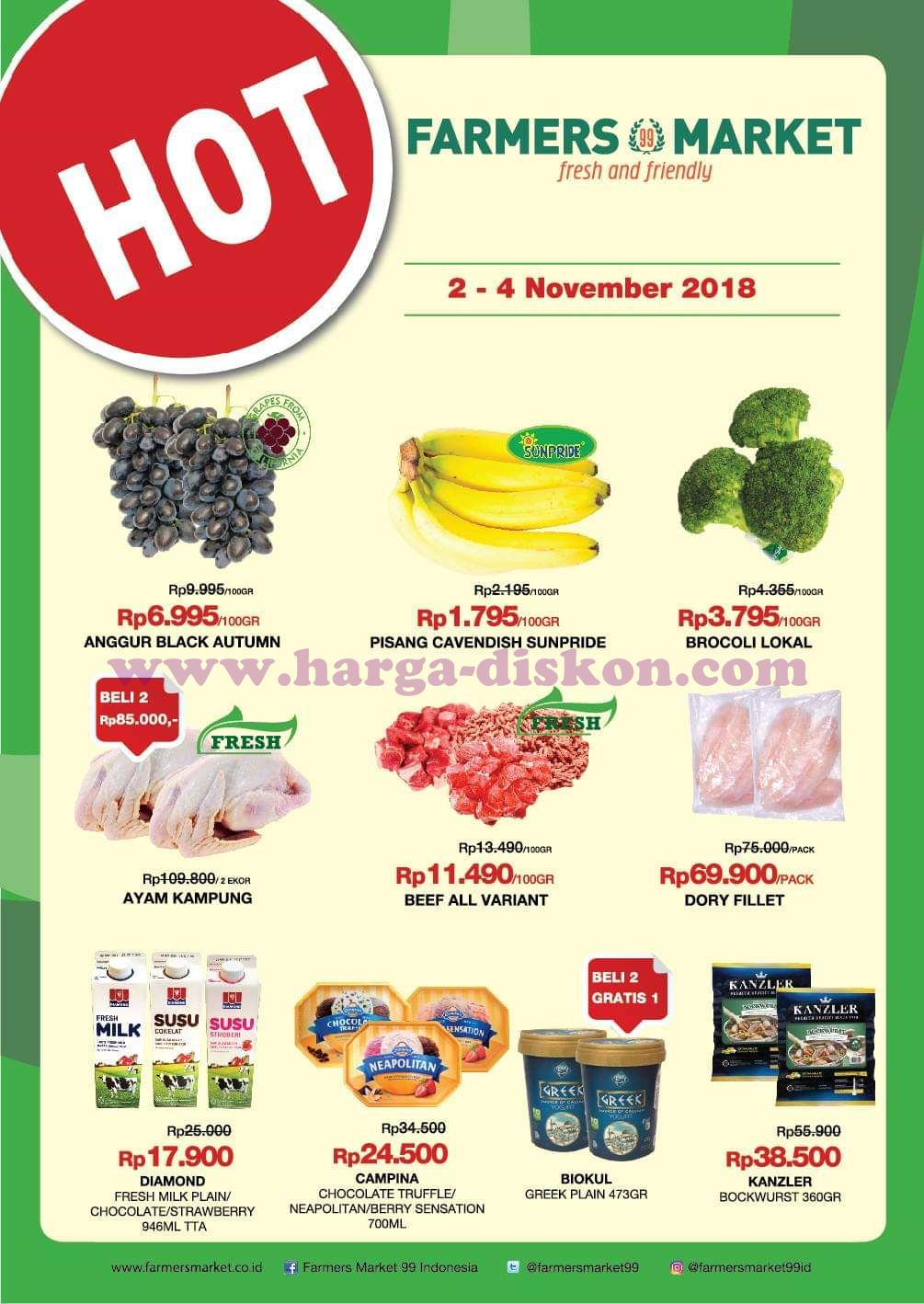 Promo Farmers Market Katalog Jsm Akhir Pekan 2 4 November 2018 News And Talking