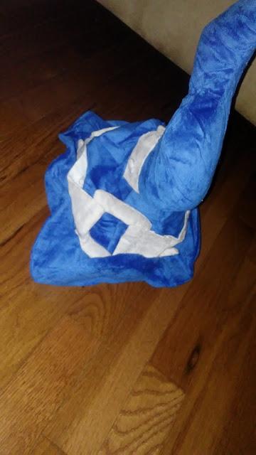 blue anime hat mystery bag youmacon