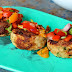 Chicken Meatballs With Tomato And Capsicum Salsa Recipe